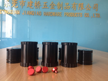 OEM new produce smooth satin and matt anodizing aluminum cnc turning parts