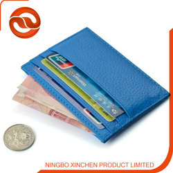 Hot selling High Quality genuine leather credit card holder