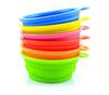 Wholesale FDA LFGB Standard Food grade Silicone Pet Dog portable bowl