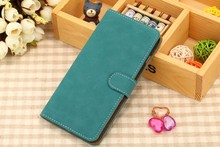 Deep color filp leather phone case, mobile phone case for iphone 6,for leather case iphone 6