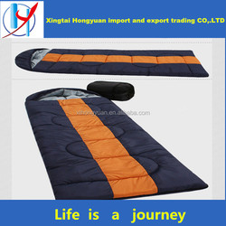 Hot sale professional 350G Camping synthetic Hollow Fibra Sleeping Bag With Fashional Design Manufactured down sleeping bag