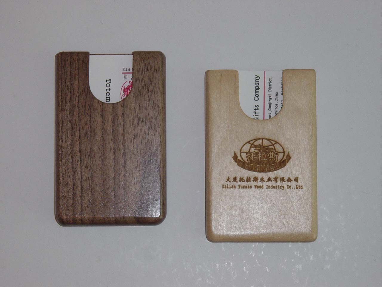 Promotional wooden business card holder buy promotional for Promotional business card holder