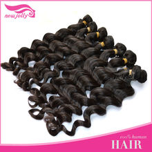 100% NATURAL high quality brazilian virgin hair/human hair extensions,Top Quality Double wefts 100% kanekalon jumbo braid
