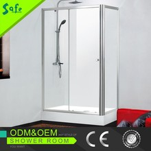 China supplier rectangle sliding shower enclosures with new structure