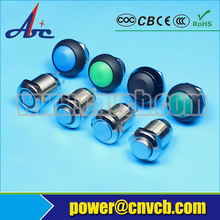 Installation diameter 28mm stainless momentary or latching IP67 push button switch