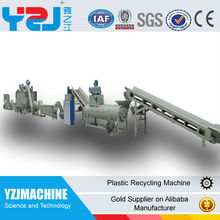 PET recycling machine and PET recycling line