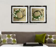Guansheng GOS6060015 Handmade Modern Artistic Flower Painting for Home Decoration