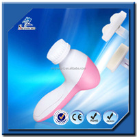 multifaction 4 blushes Cleaning Facial & vibrating Massager Brush