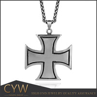 Big cross 316L stainless steel pendants cross series jewelry of Ali wholesale