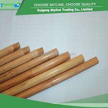1200*22mm garden usage varnished customized round wood broom stick