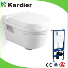 Attractive design power flush toilet, designer toilets