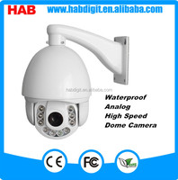 "BW 10 LEDS Analog 1/3"" CMOS Security Waterproof PTZ Outdoor IR 180m Speed Dome Camera"