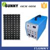 Elaborate portable solar power kit solar generator