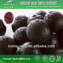 100% natural acai berry extract, acai extract, acai berry - Supplied by NutraMax