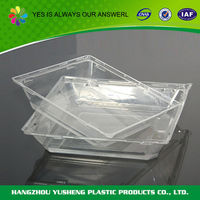 Biodegradable eco friendly food use promotional plastic egg tray