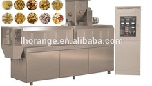 hot selling twin screw extruder food snacks machine/machinery for making snacks