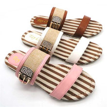 Spring women indoor cotton slipper overstocks