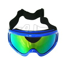 BJ-MG-002A Wholesale Best Selling Adult Blue Color Reflective Lens Spy Ski Glasses Scooter Racing Motorcross Stylish Goggles