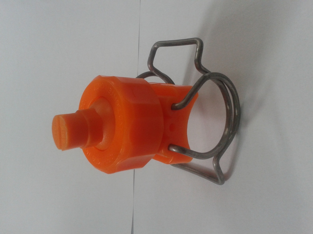 eductor with clamp for pretreatment line surfacetreatment industrial