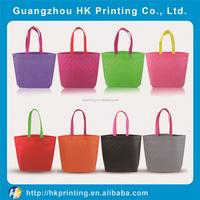customized non-woven shopping bag colorful fashion bag