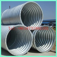 corrugated culvert as the small bridge in mine site structural plate culvert/corrugated plate for culvert