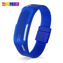 Very Cheap Watches Small Wrist Men Silicone Watch Led