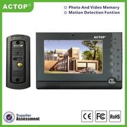 Alarm sensor system door phone video intercom door phone for villa