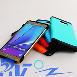 Free Shipping Newest Slim Armor Back Cover Case For Samsung Galaxy Note 5