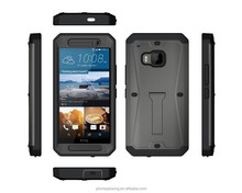 3 in 1 Armor Defender Hybrid Heavy Duty Hard Cover Shockproof Case for HTC ONE M9