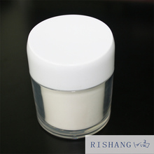 50g acrylic plastic colored cosmetic packaging empty cream jar