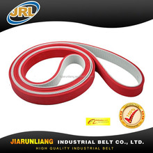 L/H/HTD White PU timing belt