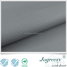bag cover micro fibre grey PU leather ,leather raw material for car,raw material for car seat