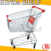 bag hook foldable shopping trolley rolling security cage