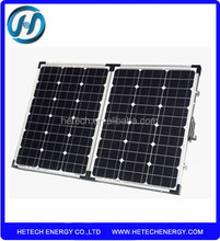 High efficiency foldable solar panel 100w with best price on alibaba