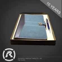 Custom Printing Specialized Produce Binded Top Notebook Companies Handmade Packaging