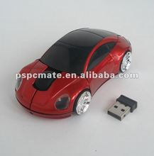 Porsche car shape 2.4G wireless mouse as 2014 promotional gifts
