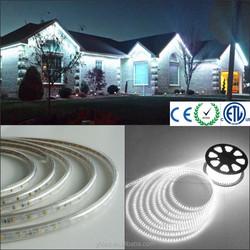 60LEDs/Meter 5050 220v waterproof ip67 high brightness led strip light led strip aluminium heat sink led light fixture frames