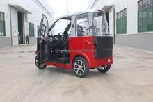 Chinese convenient left steeling vehicle 2 seaters small electric car with EEC
