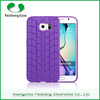 Mobile phone cases supplier 6 colors TPU Tire Pattern finish back case cover for Samsung galaxy S6 / S6 edge