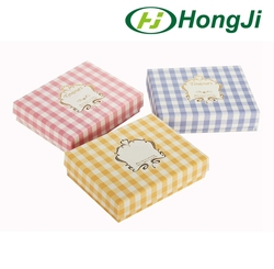 Flat Gift Box Small Cardboard Gift Paper Box For Scarf Towel