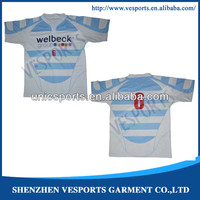 Rugby league sublimation shirts