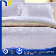 woven Guangzhou polyester/cotton 100% cotton applique work bed sheet