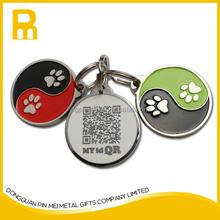 2015 Be Unique !!! free mould zinc alloy new enamel smart tag pet id for pets