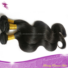 PrincessBeauty Hair 2015 Top Quality Body wave 100% human virgin Indian Remy Hair Weft,many other styles in stock