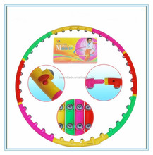 New Customized Colorful Professional Lose Weight Hula Hoops