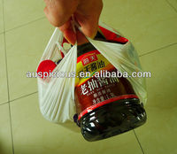 Good quality plastic extra large t shirt bags for grocery