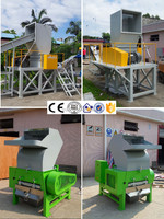 Small Plastic Film pulverizer Machine, PP/PE film pulverizer for Recycling Washing Line