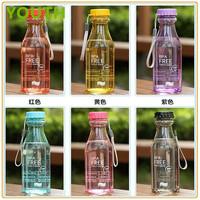 Promotional 2014 hot sale soda bottle plastic water bottle bpa free