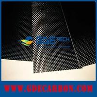 carbon fiber LED light cover 1000X600mm thickness 1.5mm 2mm 3mm 4mm 5mm