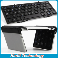 Mini folding bluetooth keyboard case for iPhone6 iPhone 6s Plus Mini QWERTY keyboard for iPhone 6S iPad Pro 12.9 inch